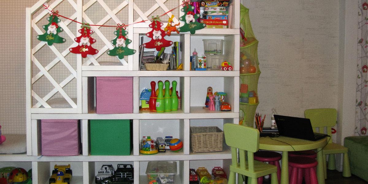 Детская комната в ресторане Мамуля