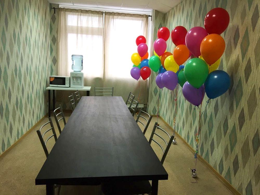 Банкетная комната на полигоне Гаршина, 1