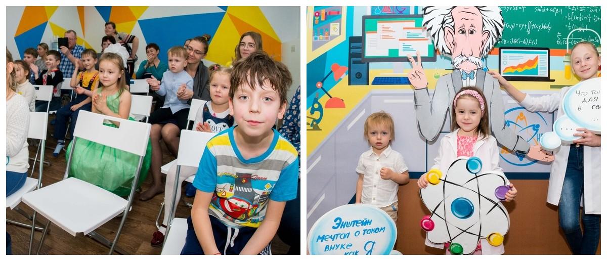 Детская студия на шоу Открытия для малышей