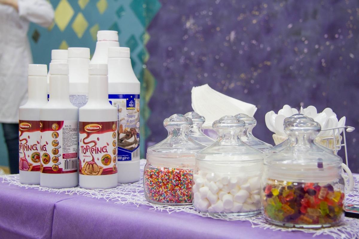 Ингредиенты для крио-мороженого