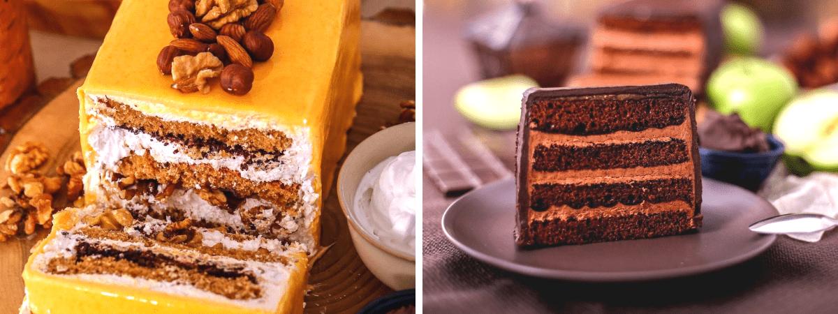 Необычный торт с оригинальной начинкой