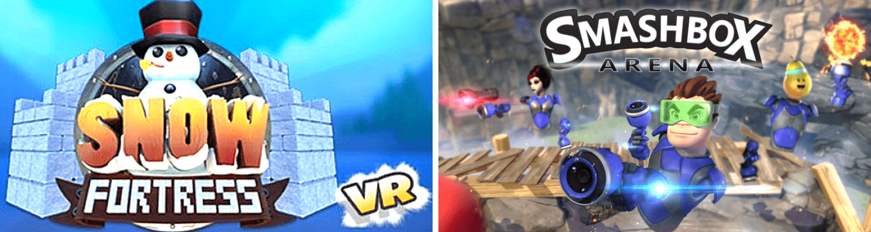 Командные VR игры для детей