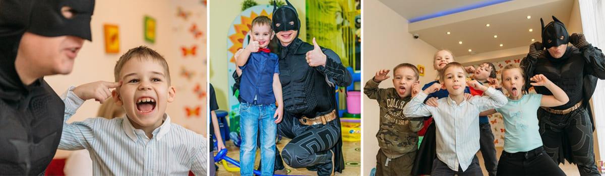 Аниматор Бэтмен в Екатеринбурге