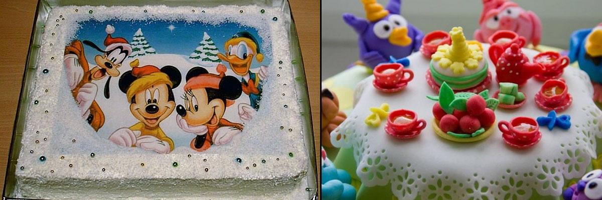 Фотопечать на торт
