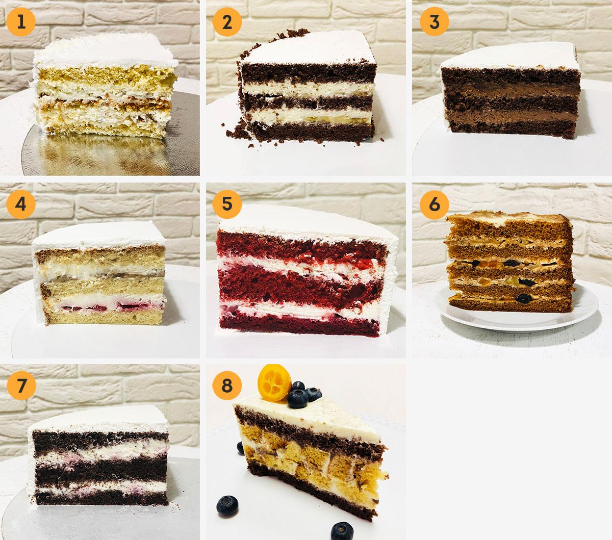 Начинки для тортов