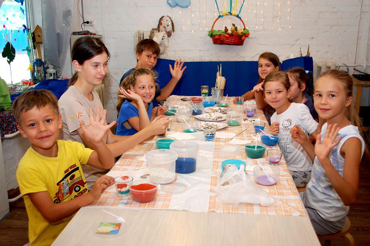 Мастер-класс на детский праздник