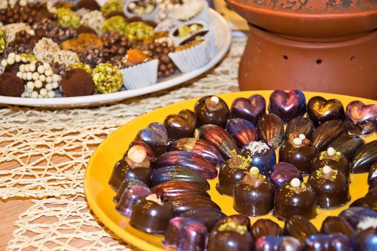 Мастер-класс Шоколадные конфеты