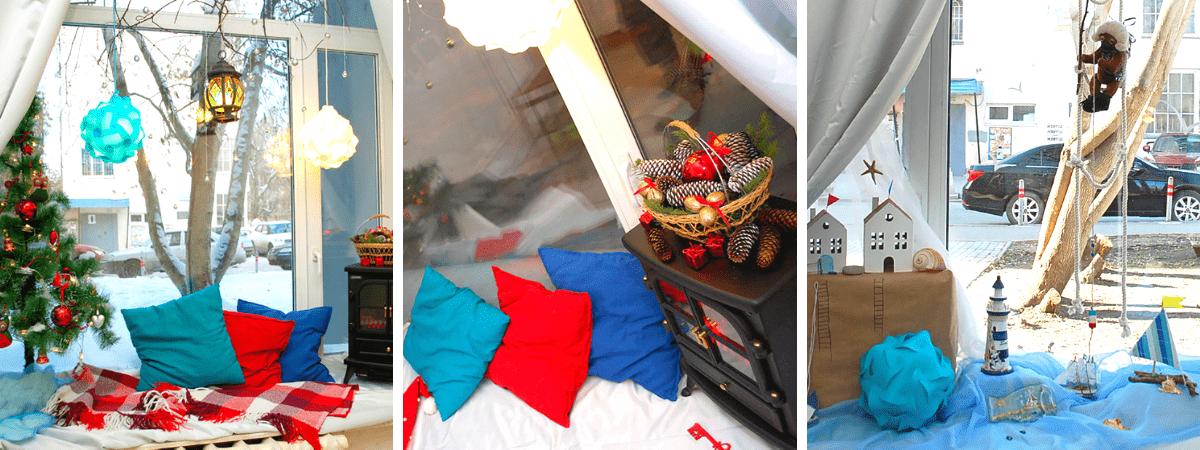 Творческая мастерская в центре города для праздника детей.