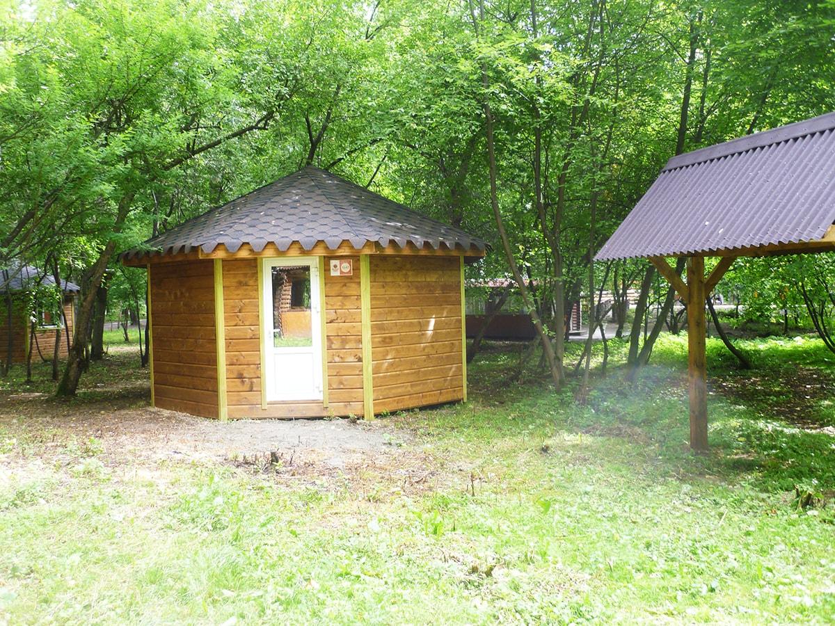 Уютный домик с отоплением