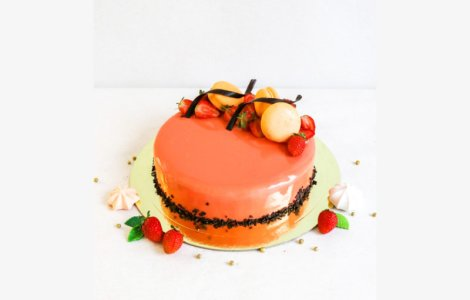 Торт с покрытием Гляссаж