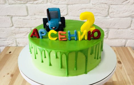 Торт мальчику на два года